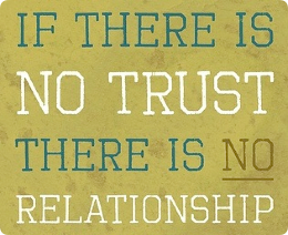 trust and relationships